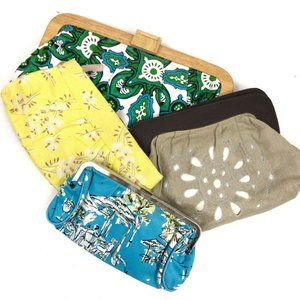 Bundle! 4 Old Navy Cute Summer Clutches